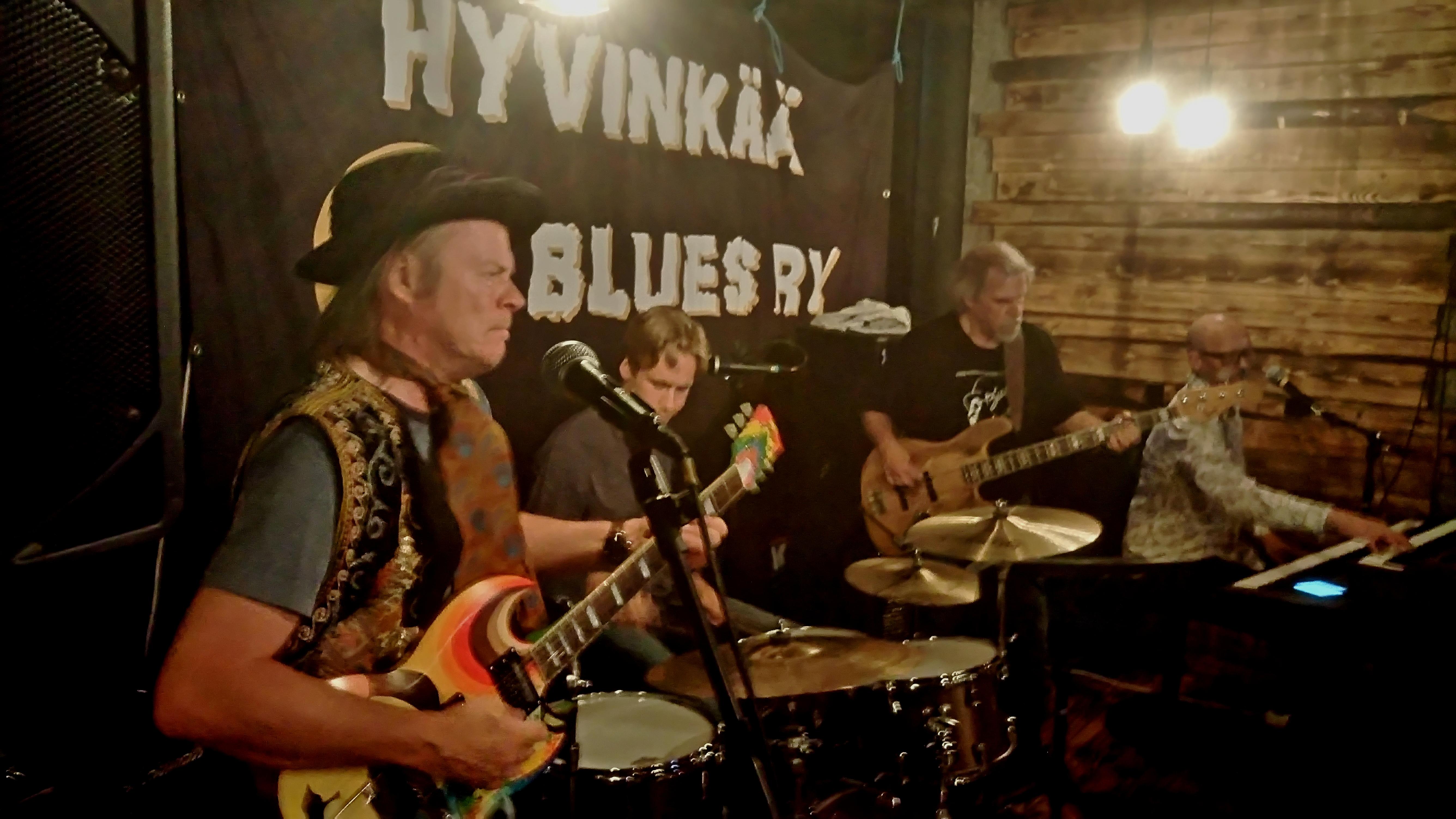 Ilkka Rantamäki & Blues Brokers