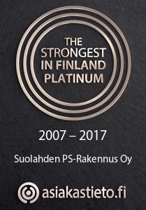 Suomen Vahvimmat Platina 2007-2017