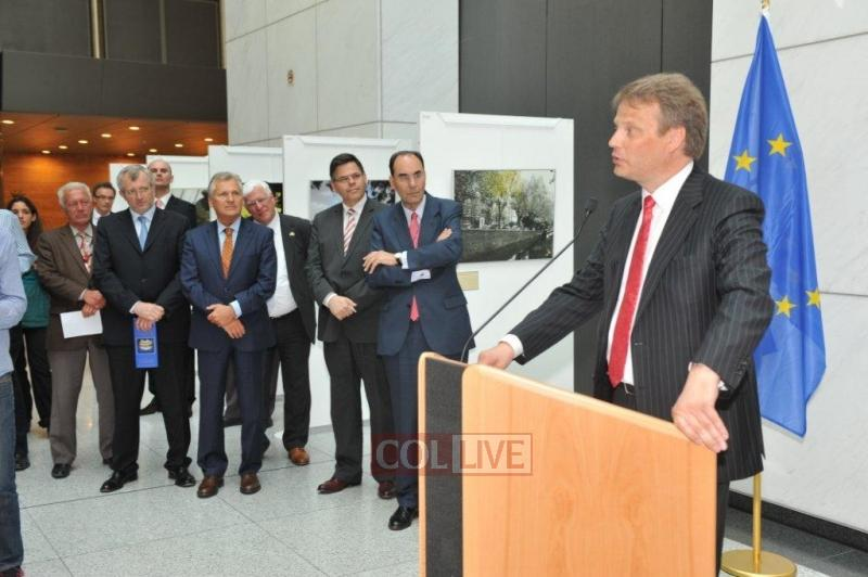MEP Hannu Takkula Speaking at The Route Opening in the presence of the leadership of the European Parliament