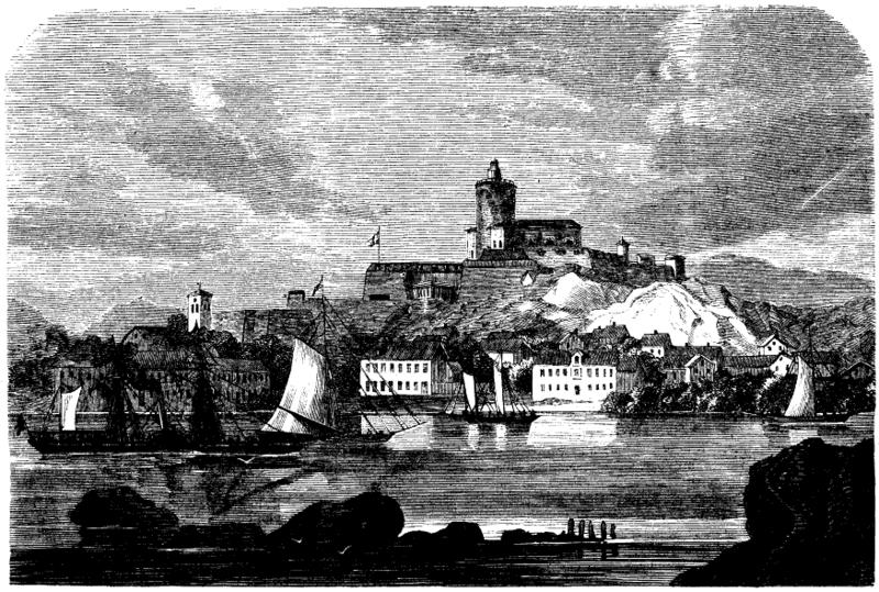 Karlstenin linnoitus Marstrandissa