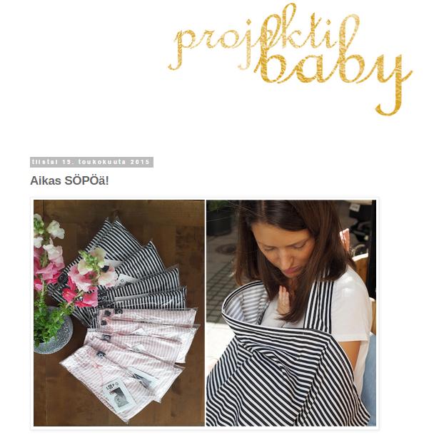 Tamperelainen yrittäjä Elina kirjoittaa kuulumisia mm. Baby Style myymälästä.