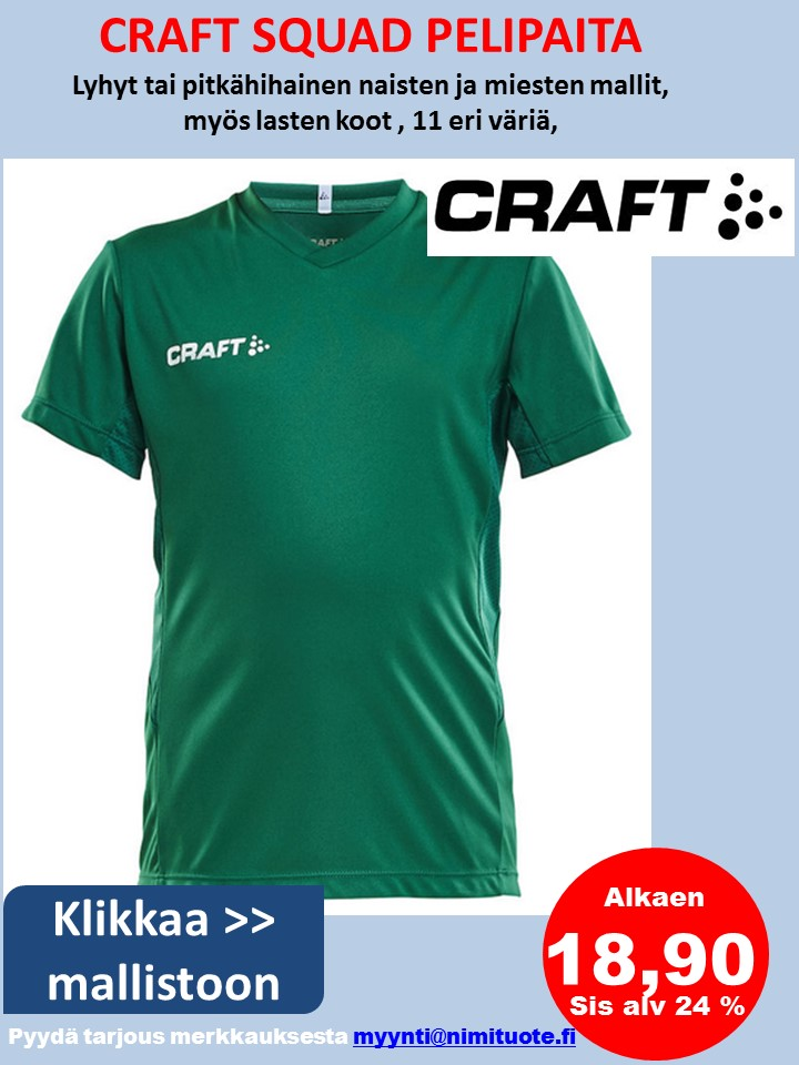 Craft Squad pelipaita
